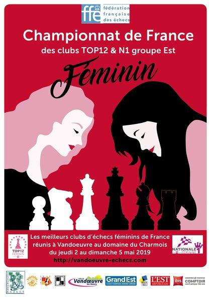 Top 12F : Bravo à Yuliya, Noémie, Téo et Sarah malgré l'exigence du plus haut niveau