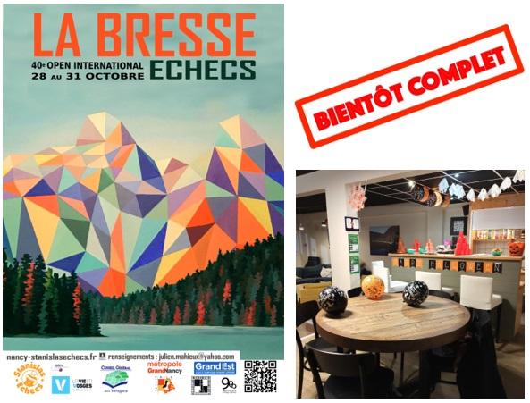 Open de la Bresse 2020 : Complet