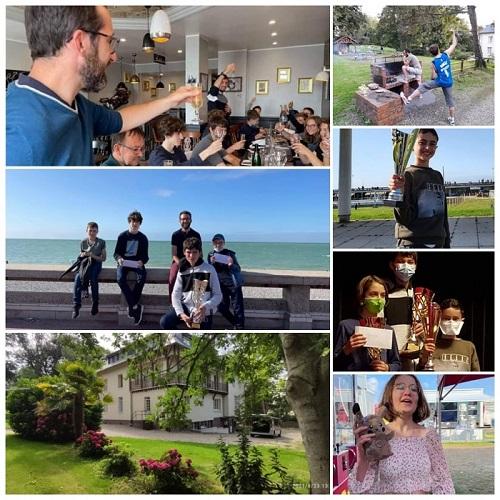 Les Stan's en vacance à Dieppe : roooooooooooo, Maximilian champion de l'open B, Enes 3ème sans oublier Colin, Louis, Neyl, Stanislas, Thomas et Esteban