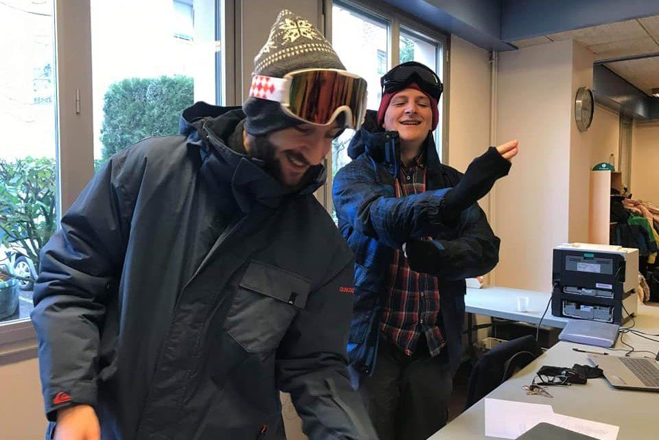 Vacance de février : en attendant le lorraine retour sur la 1ère semaine avec 50 joueurs pour un Grand prix spécial ski, sans oublier la fête du vendredi