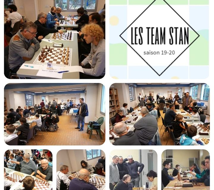 Les team stan : retour en image sur les perf de nos 7 équipes et 42 joueurs !