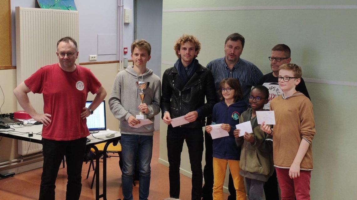 un week-end «rapide» avec  Dina et Carl à la tour blanche, Quentin à Chaumont et Antonin vainqueur CD54