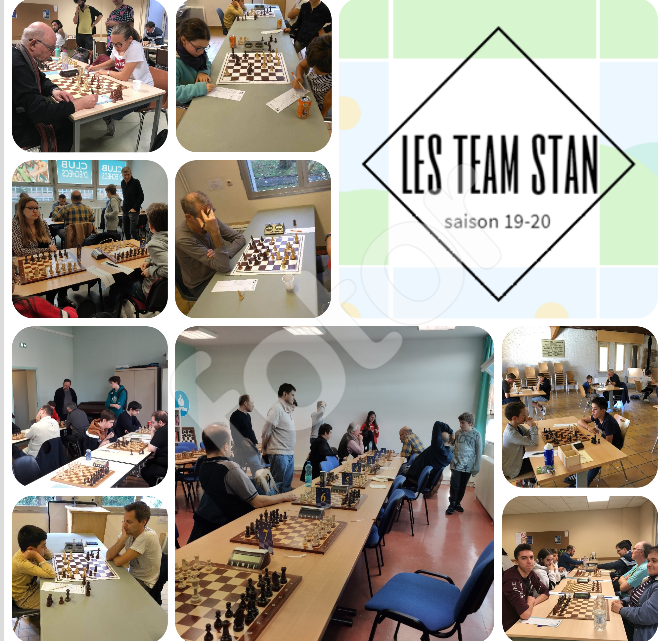 Les team stan : retour en image sur nos 7 équipes et nos 42 joueurs !