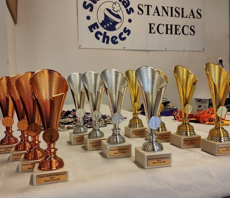 Championnat Départemental : une double organisation avec 142 joueurs, Stan toujours 1er club de Meurthe & Moselle avec 89 participants, 53 qualifiées dont 17 podiums !